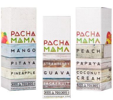 Charlie's Chalk Dust Pacha Mama E-Juice Series Review