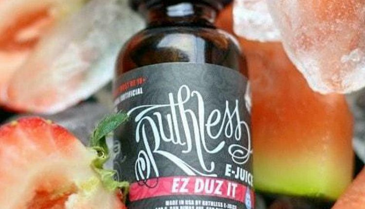 Ez Duz It On Ice E-Liquid By Ruthless Vapor Review