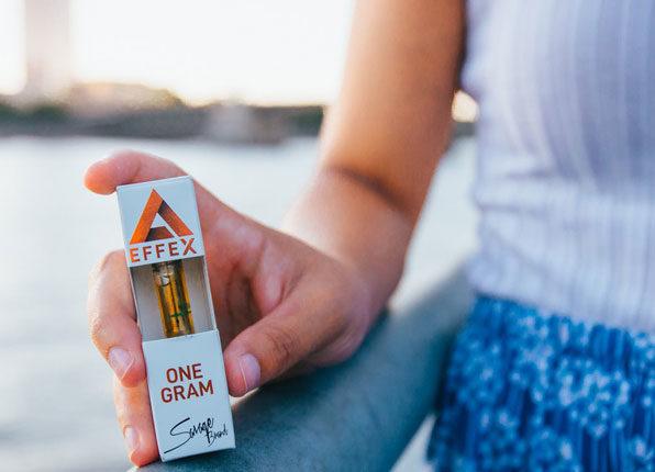 Cali Orange Kush Delta 8 THC Cartridges by Delta Effex Review