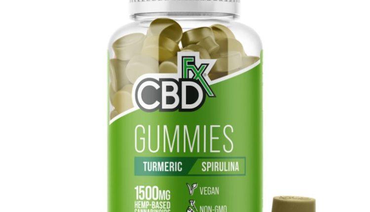 CBD Gummies with Turmeric and Spirulina by CBDFx Review